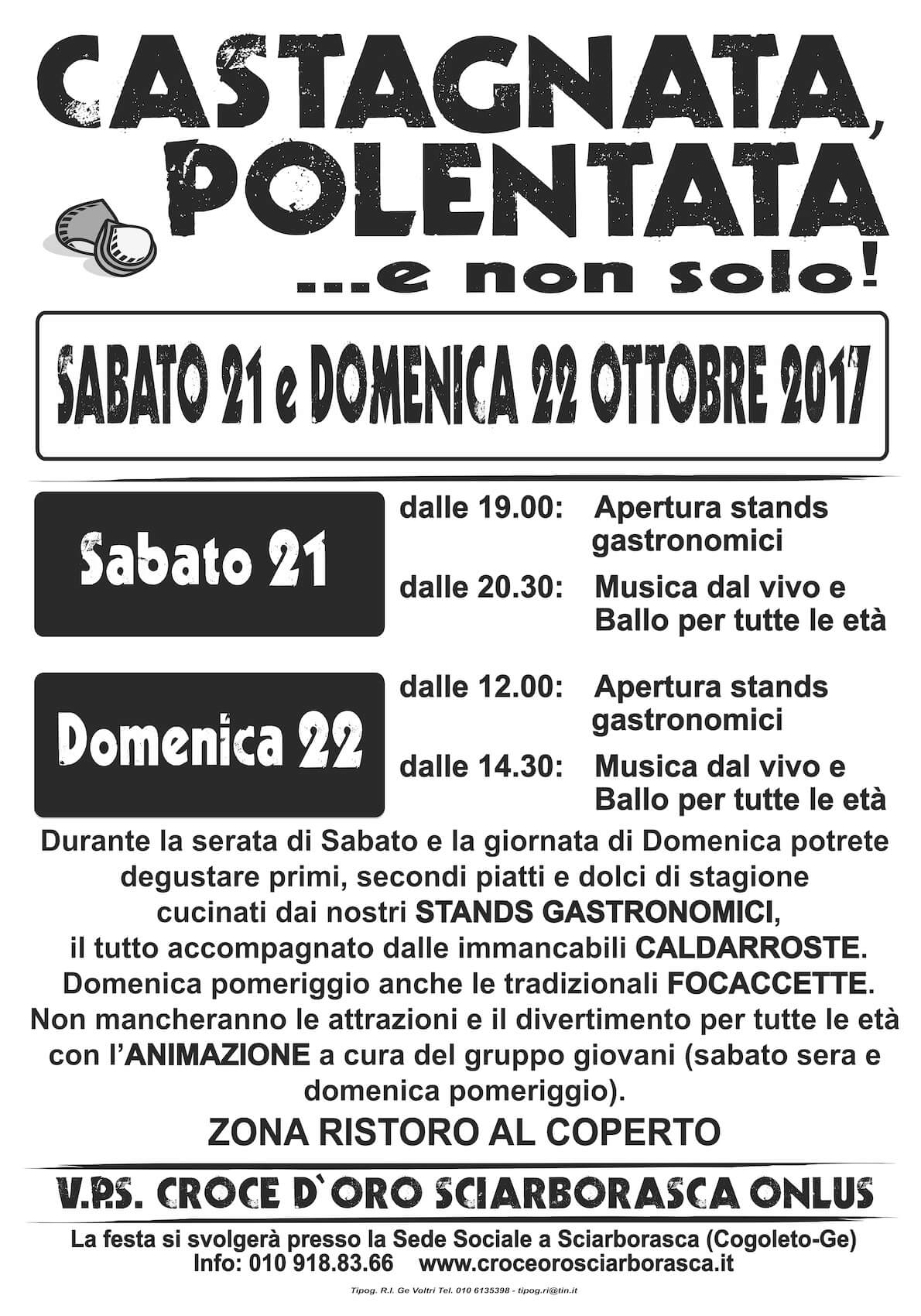 Manifesto Castagnata 2017